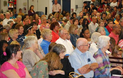 A Full House at Grandparents Day Chapel