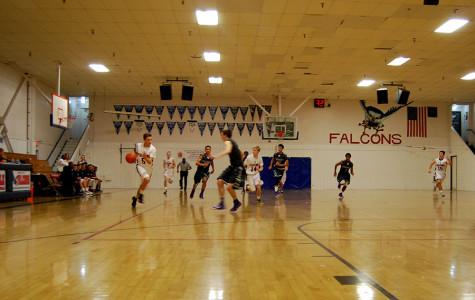 Varsity Boys Basketball Faces Off Rival Bradshaw Christian