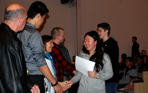 Students Awarded For Academic Achievement