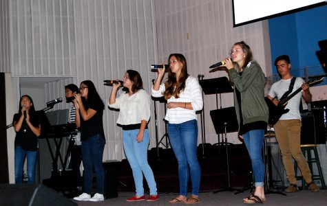 Chapel Leadership Plays Together for God's Purpose