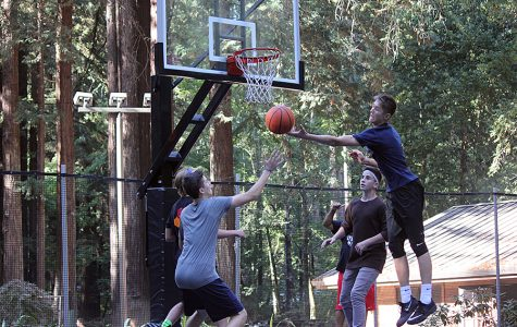 Students Participate in Retreat Basketball Tournament