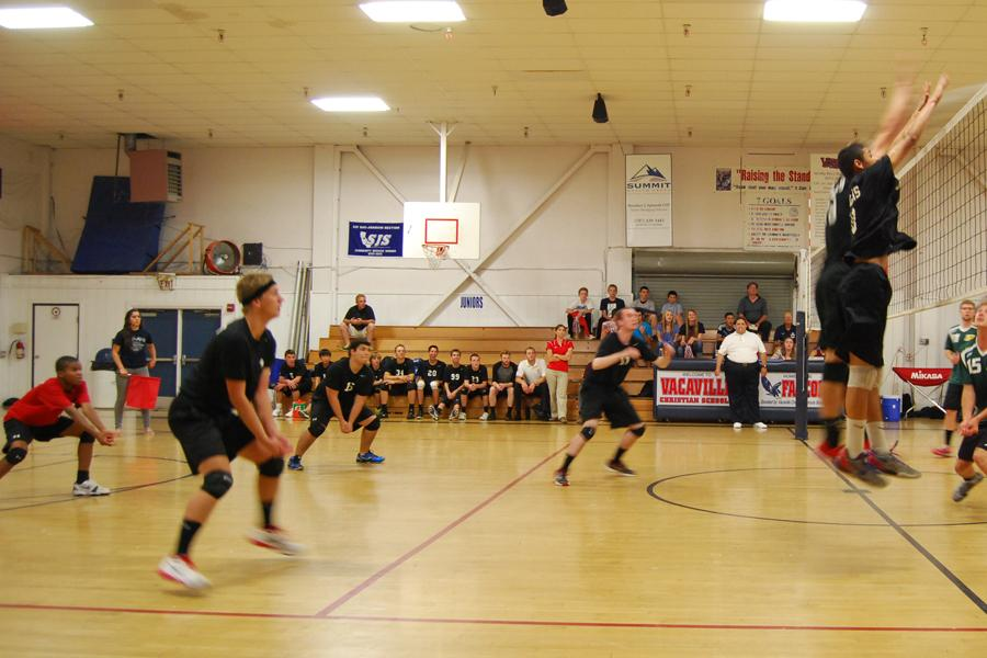 Falcons Play Placer in Volleyball Playoff Game
