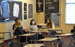 Navigation to Story: Sophomores Engage With Each Other Before Bible Class